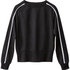 Bluza dwukolorowa. Szare bluzy damskie marki La Redoute Collections, m, z bawełny, z kapturem. Za 102,86 zł.