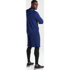 Nike Performance DRY SWOOSH HOODIE Bluza z kapturem blue void/white. Niebieskie bluzy męskie rozpinane marki Nike Performance, m, z materiału. Za 379,00 zł.