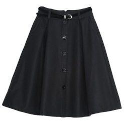Spódniczki: Czarna Spódnica Span