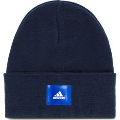 Czapka adidas - Logo DJ1210 Conavy/Conavy/Croyal. Niebieskie czapki męskie Adidas, z materiału. Za 89,95 zł.