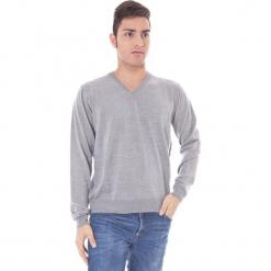Sweter w kolorze jasnoszarym. Niebieskie swetry klasyczne męskie marki GALVANNI, l, z okrągłym kołnierzem. W wyprzedaży za 129,95 zł.