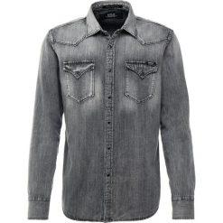 Replay Koszula grey denim. Zielone koszule męskie marki Replay, z bawełny. Za 409,00 zł.