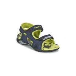 Sandały Dziecko  Kangaroos  SINCLAIR II. Niebieskie sandały chłopięce KangaROOS. Za 103,20 zł.