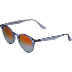 RayBan Okulary przeciwsłoneczne shiny light blue. Szare okulary przeciwsłoneczne damskie lenonki marki Ray-Ban, z materiału. Za 659,00 zł.