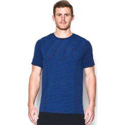 Under Armour Koszulka męska Threadborne Fitted Seamless granatowa r. XL (1289596-997). Szare koszulki sportowe męskie marki Under Armour, z elastanu, sportowe. Za 137,18 zł.