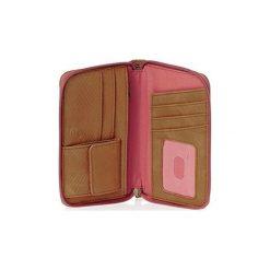 Portfele Roxy  /CARTERA. Czerwone portfele damskie Roxy. Za 162,70 zł.