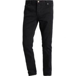 Jeansy męskie regular: HUF 5 POCKET BULL Jeansy Straight Leg black