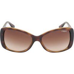 VOGUE Eyewear Okulary przeciwsłoneczne black. Czarne okulary przeciwsłoneczne damskie aviatory VOGUE Eyewear. Za 429,00 zł.