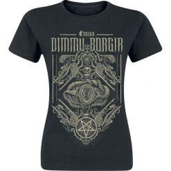 Dimmu Borgir Eonian - Snakes Ornaments Koszulka damska czarny. Czarne bluzki asymetryczne Dimmu Borgir, m. Za 49,90 zł.