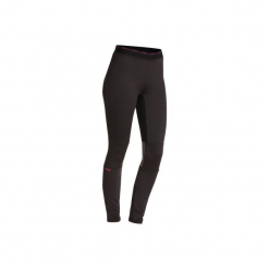 Legginsy narciarskie FRESHWARM damskie. Czarne legginsy marki WED'ZE, xs, z materiału. Za 49,99 zł.