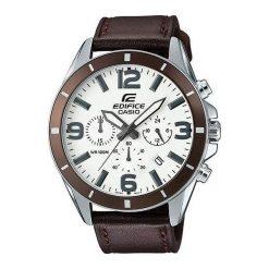 Zegarek Casio Męski  EFR-553L-7BVUEF Edifice Chronograf brązowy. Brązowe zegarki męskie CASIO. Za 367,00 zł.