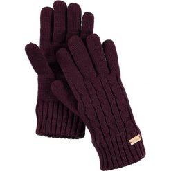 """Rękawiczki """"Multimix"""" w kolorze ciemnofioletowym. Fioletowe rękawiczki damskie Regatta, z dzianiny. W wyprzedaży za 60,95 zł."""