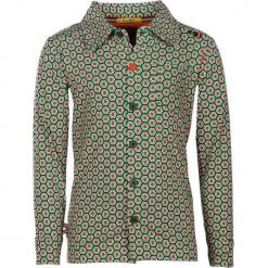 """Koszula """"Simply Irresistible"""" w kolorze zielono-pomarańczowym. Zielone koszule chłopięce marki 4FunkyFlavours Kids, z klasycznym kołnierzykiem. W wyprzedaży za 102,95 zł."""