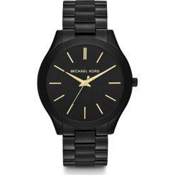 Zegarek MICHAEL KORS - Slim Runway MK3221 Black/Black Ip. Czarne zegarki damskie Michael Kors. Za 950,00 zł.