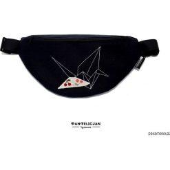Torebki klasyczne damskie: nerka saszetka żuraw – standard