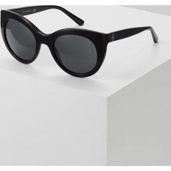 Tory Burch Okulary przeciwsłoneczne black. Czarne okulary przeciwsłoneczne damskie aviatory Tory Burch. Za 609,00 zł.