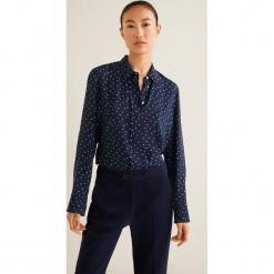 Mango - Koszula Swede2. Szare koszule damskie Mango, l, w paski, z tkaniny, klasyczne, z klasycznym kołnierzykiem, z długim rękawem. Za 99,90 zł.
