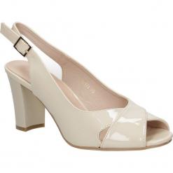 Sandały na słupku Sergio Leone 16171. Czarne sandały damskie na słupku marki Sergio Leone. Za 88,99 zł.