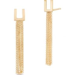 Zjawiskowe Kolczyki Złote - złoto żółte 375. Żółte kolczyki damskie W.KRUK, złote. Za 499,00 zł.