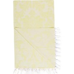 Kąpielówki męskie: Chusta hammam w kolorze żółtym – 180 x 100 cm