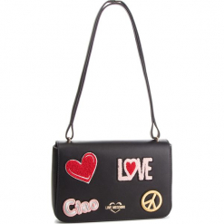 Torebka LOVE MOSCHINO - JC4083PP17LJ0000 Nero. Czarne torebki klasyczne damskie Love Moschino, ze skóry ekologicznej. Za 909,00 zł.