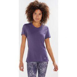 Adidas Performance TEE Tshirt z nadrukiem trapur. Fioletowe t-shirty damskie adidas Performance, l, z nadrukiem, z poliesteru. Za 169,00 zł.