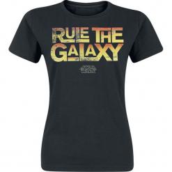 Star Wars Rule The Galaxy Koszulka damska czarny. Czarne bluzki damskie marki Star Wars, s, z motywem z bajki, retro. Za 54,90 zł.