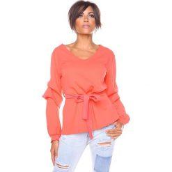 """T-shirty damskie: Koszulka """"Dana"""" w kolorze koralowym"""