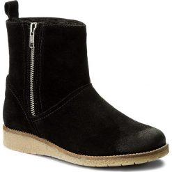 Botki SERGIO BARDI - Auletta FW127288917KD 801. Czarne buty zimowe damskie Sergio Bardi, ze skóry. W wyprzedaży za 189,00 zł.