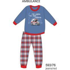 Odzież dziecięca: Piżama chłopięca DR 593/76 Ambulance Jeansowa r. 128
