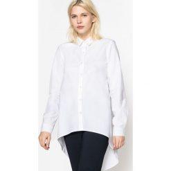 Koszule body: Koszula z dłuższym tyłem, długi rękaw, czysta bawełna