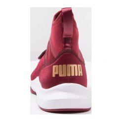 Puma PHENOM VARSITY Obuwie treningowe pomegranate/white. Czerwone buty sportowe damskie marki Puma, z materiału. Za 459,00 zł.