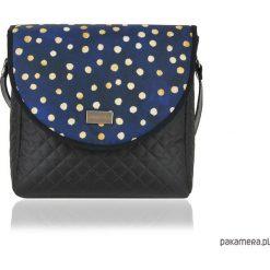 Torebki i plecaki damskie: TOREBKA PURO 1501 BLUE DOTS