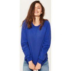 Bluza basic - Granatowy. Niebieskie bluzy męskie marki Dreimaster, xs, z dzianiny. Za 119,99 zł.
