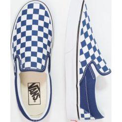 Vans UA CLASSIC SLIPON Półbuty wsuwane estate blue/true white. Niebieskie półbuty damskie skórzane Vans. Za 299,00 zł.