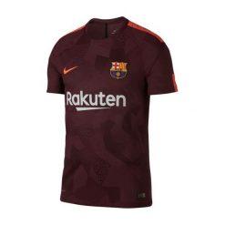 Nike Koszulka męska FCB NK Vapor Mtch JSY SS bordowa  r. M (847188 683). Czerwone t-shirty męskie Nike, m, do piłki nożnej. Za 417,00 zł.