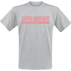 T-shirty męskie: Nintendo SNES - Super Nintendo T-Shirt odcienie szarego