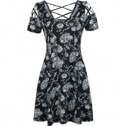Harry Potter Bellatrix Snake Floral Sukienka czarny. Czarne sukienki na komunię marki Mohito, l, z dekoltem na plecach. Za 164,90 zł.