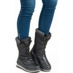 MODNE CZARNE ŚNIEGOWCE. Czarne buty zimowe damskie McKeylor. Za 159,00 zł.