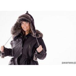 Czarna czapka zimowa. Czarne czapki zimowe damskie Pakamera, na zimę. Za 180,00 zł.