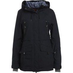 Roxy TRIBE Kurtka snowboardowa true black. Białe kurtki damskie narciarskie marki Roxy, l, z nadrukiem, z materiału. W wyprzedaży za 975,20 zł.