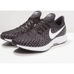 Nike Performance AIR ZOOM PEGASUS 35 Obuwie do biegania treningowe black/white/gunsmoke/oil grey. Brązowe buty do biegania męskie marki N/A, w kolorowe wzory. Za 499,00 zł.