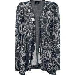 Odzież damska: Alicja w Krainie Czarów Wheels Kardigan damski ciemnoszary/biały