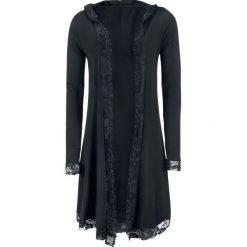 Forplay Lace Cardigan Kardigan damski czarny. Czarne kardigany damskie Forplay, xxl, w koronkowe wzory, z koronki. Za 144,90 zł.