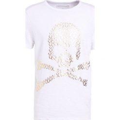 True Religion SKULL Tshirt z nadrukiem weiss. Białe t-shirty męskie z nadrukiem True Religion, m, z bawełny. Za 339,00 zł.