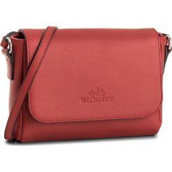 Torebka WITTCHEN - 86-4E-460-3  Czerwony. Czerwone listonoszki damskie Wittchen, ze skóry, na ramię. W wyprzedaży za 239,00 zł.