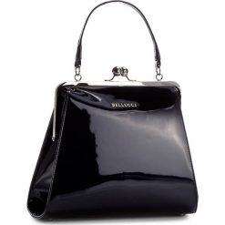 Torebka BELLUCCI - R-110 Granatowy. Czarne torebki klasyczne damskie marki Bellucci. W wyprzedaży za 209,00 zł.
