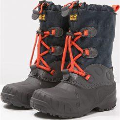Jack Wolfskin ICELAND TEXAPORE HIGH Śniegowce dark sky. Niebieskie buty zimowe damskie marki Jack Wolfskin, z materiału. W wyprzedaży za 258,30 zł.