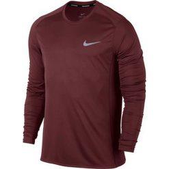 Nike Koszulka męska Dry Miler Top LS bordowa r. S (833593 619). Czerwone t-shirty męskie marki Nike, m. Za 126,00 zł.