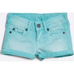 Pepe Jeans - Szorty dziecięce 92-122 cm. Czarne szorty damskie z printem marki bonprix. W wyprzedaży za 89,90 zł.